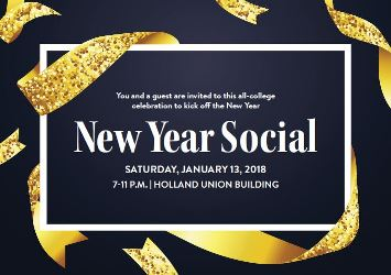 2018 New Year Social