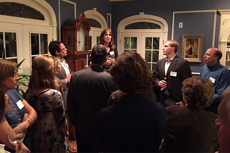 Stefanie Niles, Admissions, fall reception, baltimore