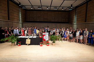 Phi Beta Kappa Initiation, Commencement May 2012