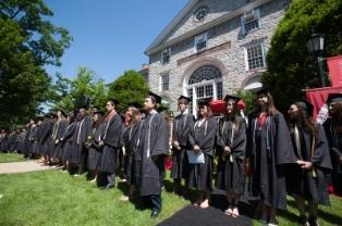 Phi Beta Kappa Initiation, Commencement 2013