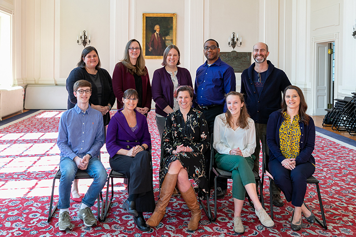 Representatives from the President's Commission on Inclusivity. Photo by Carl Socolow '77.