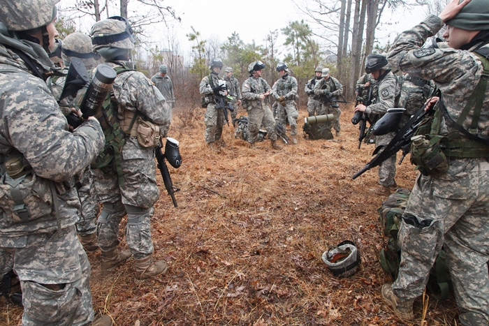 The Blue Mountain Battalion prepares for its annual exercise.