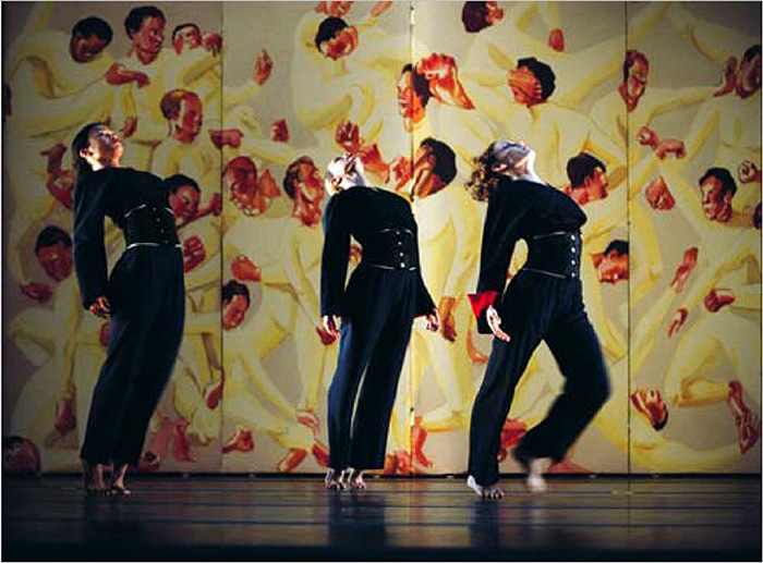 choreography by Richard Move.