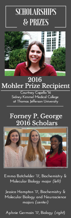 Scholarships & Prizes 2016