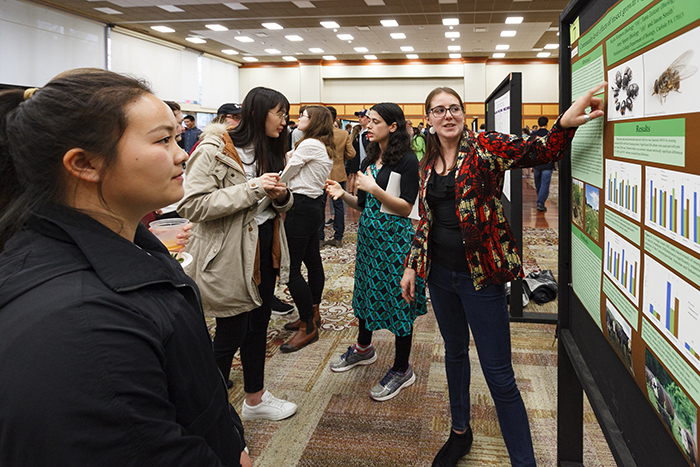 Dickinson College Science Majors Share Research on 'Internet of Things,' Smoking Stigma and More