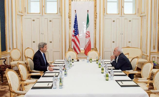 Secretary of State John Kerry and Iranian Foreign Minister Zarif.