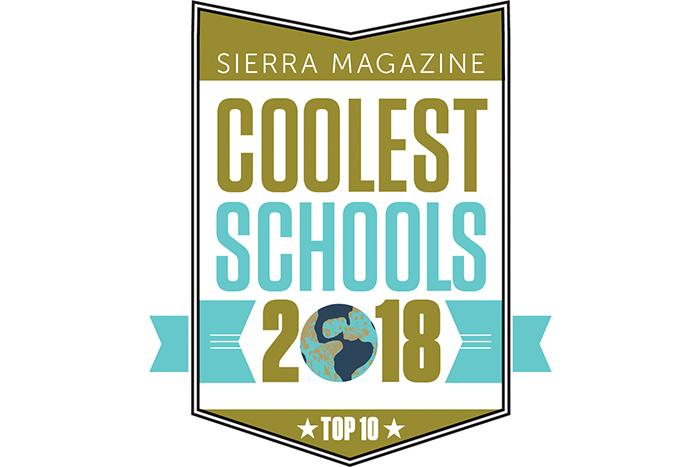 Sierra Magazine Names Dickinson College one of the 'Coolest Schools' for Sustainability