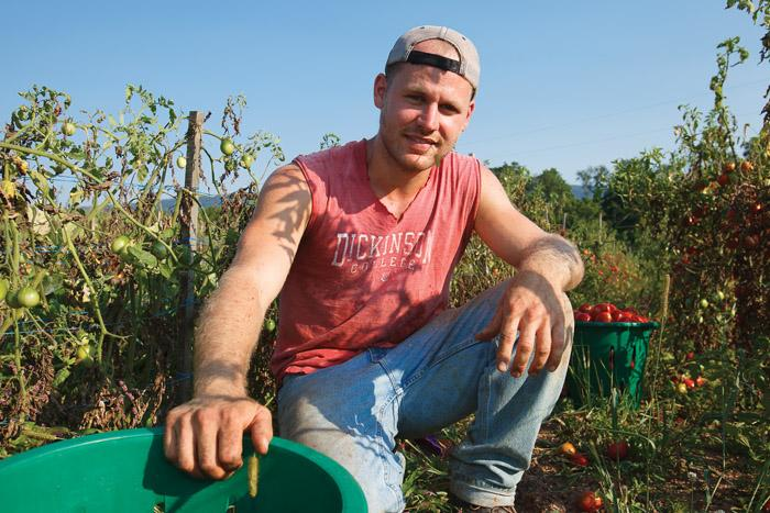Alex Smith '10 saves the world, one (organic) meal at a time.