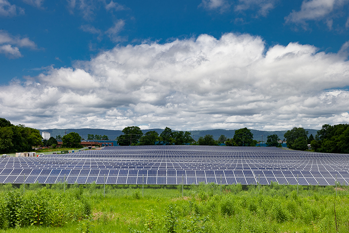 Dickinson's new 3-megawatt solar array