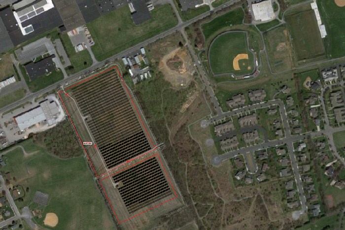 New Solar Panels at Dickinson Park Will Cover 12-Acre Area