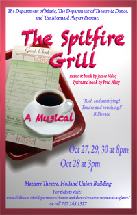 The Spitfire Grill Poster Fall 2012