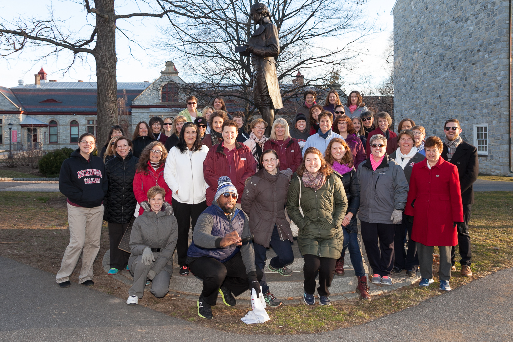 2018 spring into fitness challlenge kick-off walk