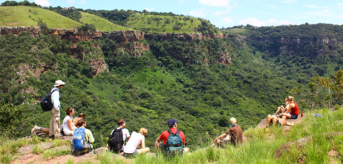 Students in 1000 Hills near Durban South Africa