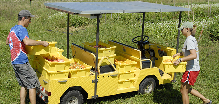 Dickinson College Solar Wheeler