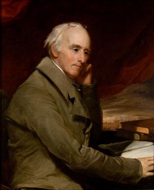 Thomas Sully's painting of Benjamin Rush