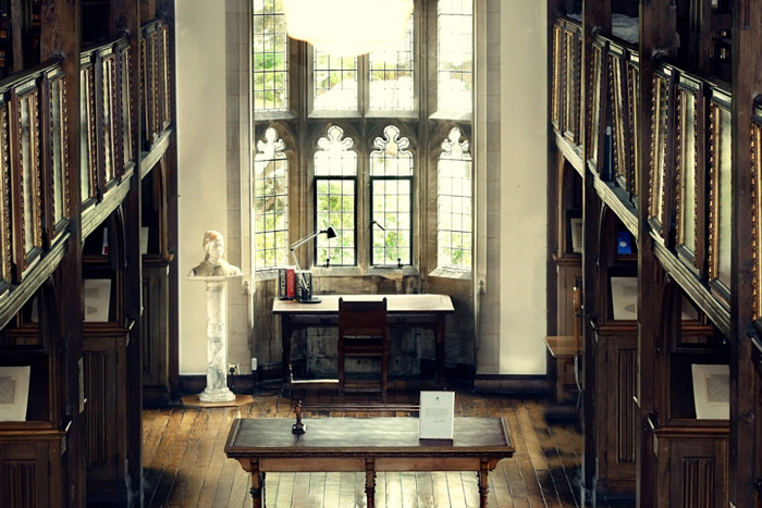 Mansfield College library
