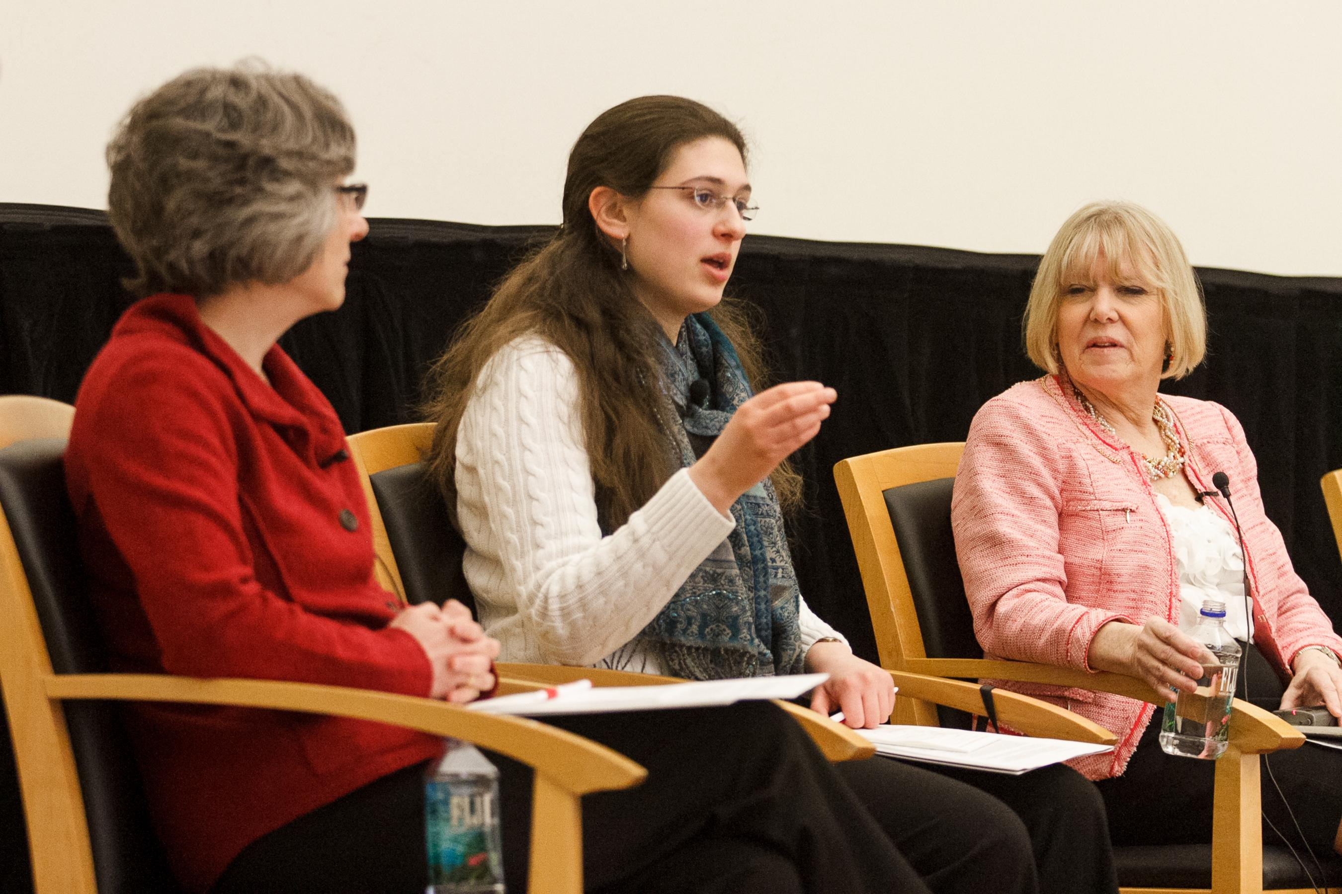 panel discussion dissects women's progress
