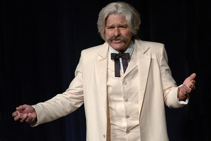 Todd Wronski as Mark Twain