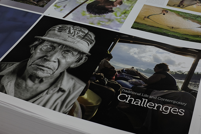 A hardcover documentary book about the Ese'Eja accompanies the tour and will be launched during a public open reception at the Peruvian Embassy.