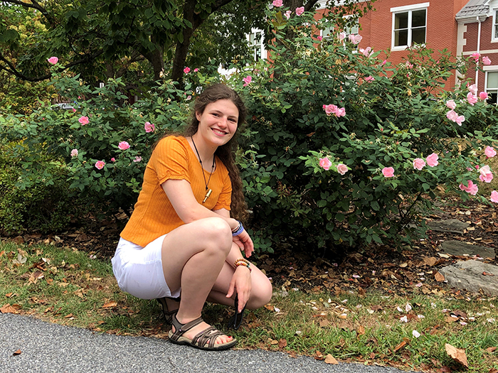 Student Snapshot: Alaina Clemence '22