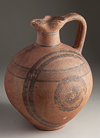 Cypriot Orinchoe, ca. 950-750 B.C., courtesy of Wilson College.