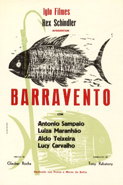 This is a poster for the movie Barravento .