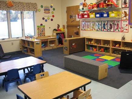 Picture of Blue Pups Classroom