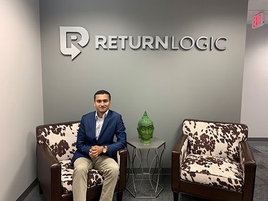 As a data science intern with ReturnLogic, Muhammad Burhan '21 got first-hand experience managing ecommerce platforms for fashion brands. He also assisted the brands with data-driven solutions.