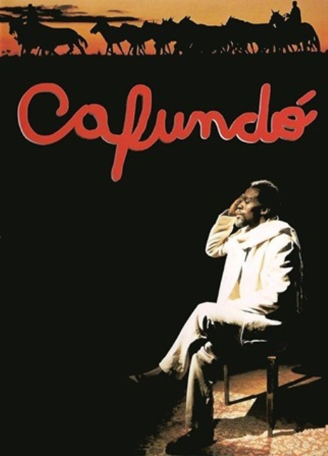 This is a poster for the movie Cafundo.