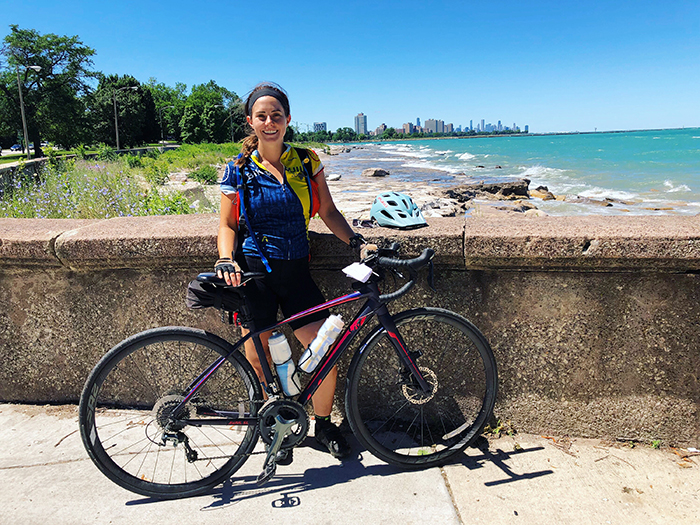 Dickinson College Alumna Bikes Across the Country for Affordable Housing Cause