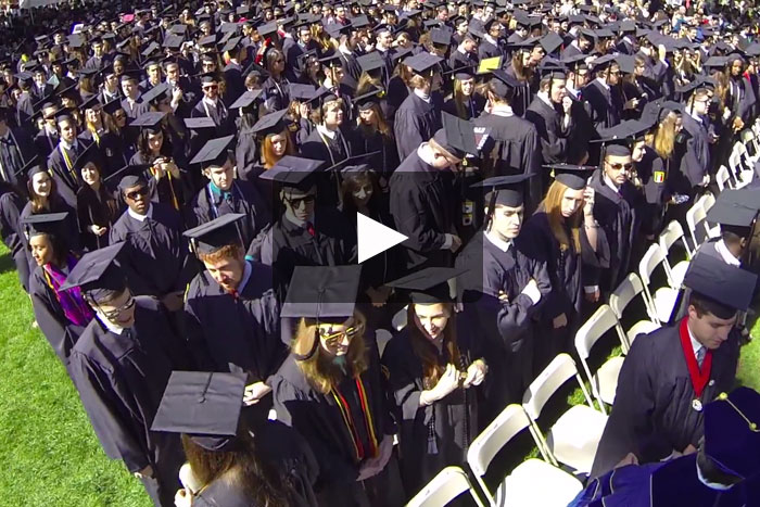 commencement 2014 highlights video