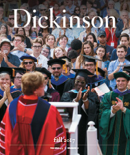 DIckinson Magazine Cover Fall 2017