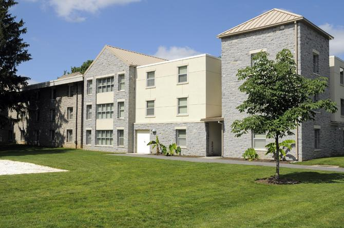 Exterior of Davidson-Wilson residence hall.