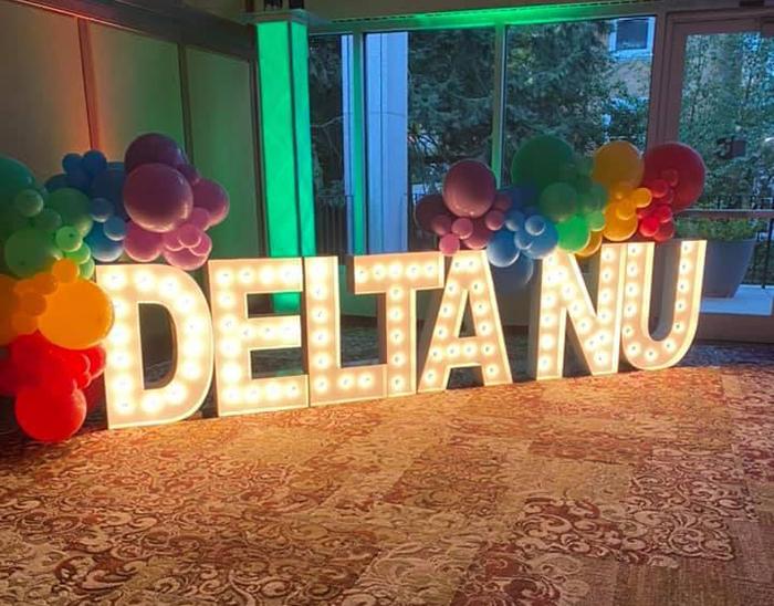 Happy Birthday, Delta Nu!