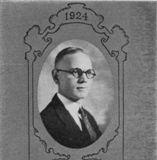 Dickinson College 1924 yearbook photo of Norman M. Eberly