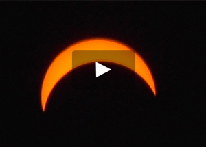 Solar Eclipse video still