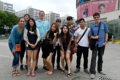 Picture of Students in Shanghai