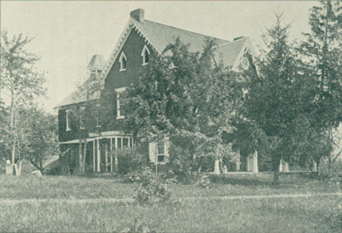 The farmhouse at the Carlisle Indian Industrial School