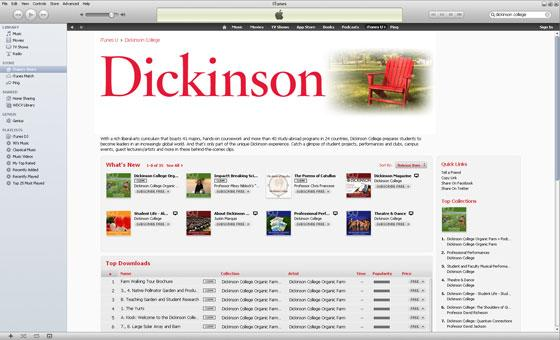 Dickinson is on itunes.