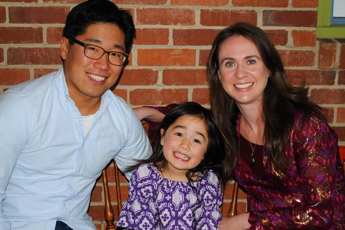 jason yi and his family
