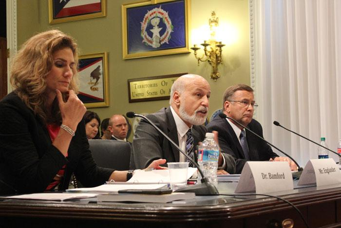 john englander at a congressional hearing
