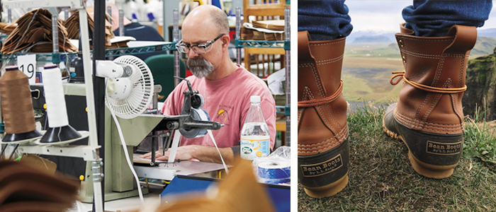 LL bean boots and worker