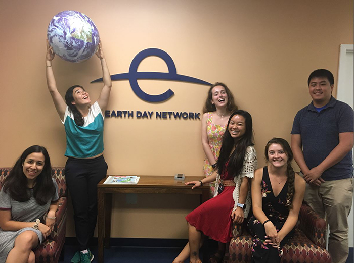 As an education intern at Earth Day Network, Madeleine Sagebiel '20 performs events research while creating and managing her own communications campaigns.