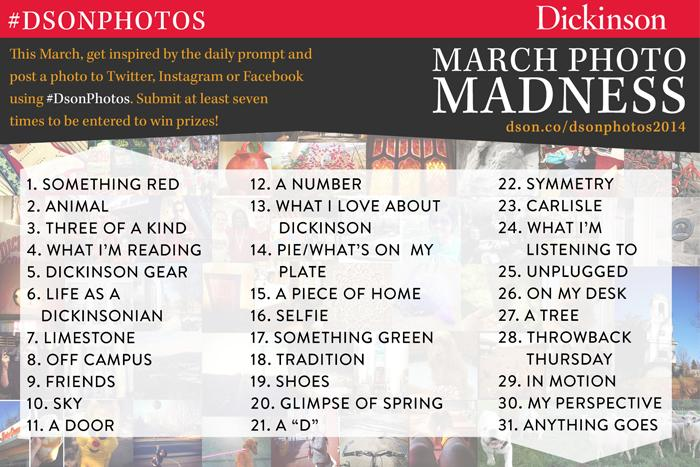 March Photo Madness graphic