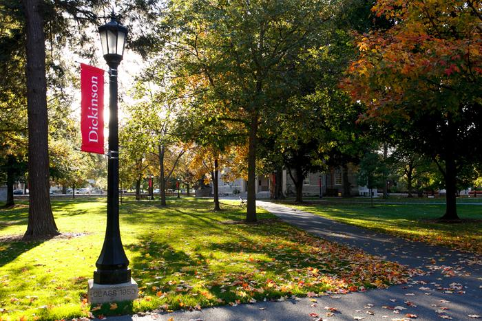 Dickinson College campus.
