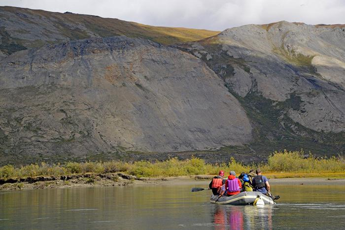 rafting in the arctic