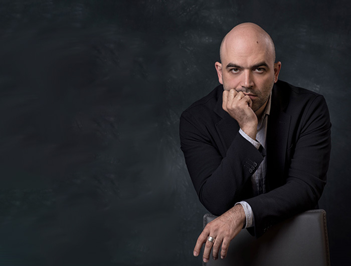 Roberto Saviano. Photo courtesy of Riccardo Ghilardi.
