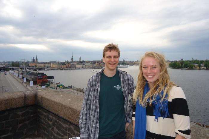 Oldach and Timms vist Stockholm