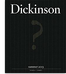 Dickinson Magazine Summer 2013 cover