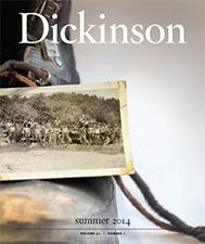 Dickinson magazine cover
